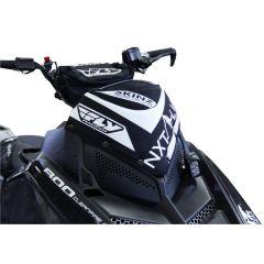 Skinz Next Level Vindrute Väska svart/vit 2011-15 Polaris Pro RMK/Switchback/Rus