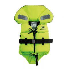 Baltic Split Front 1266 räddningsväst UV-gul Baby 3-15kg