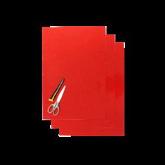 Blackbird Klisterark  röd 47x33cm (3st)