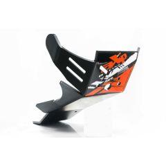 AXP Xtrem HDPE Skid Plate Black KTM/Husqvarna 4-T 16-18