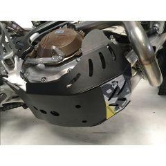 AXP Skid Plate Black Husqvarna FE250-FE350 17-19