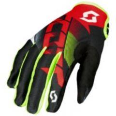 Scott Handske 350 Dirt röd/svart