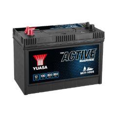 Yuasa M31-100S Active Marine Start Battery 12V 100Ah 800A OBS.Pallfrakt