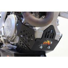 AXP Hasplåt Svart Kawasaki KX450F 19-