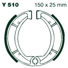 AIR Bromsbackar Y 510 150x25mm parvis