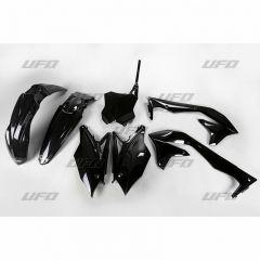UFO Plastkit 5-delar Svart KXF450 16-17