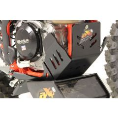 AXP Xtrem HDPE Skid Plate Black Beta 350RR-390RR-430RR-480RR-500RR 20