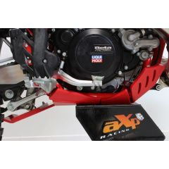 AXP Xtrem HDPE Skid Plate Red Beta 250RR-300RR 20
