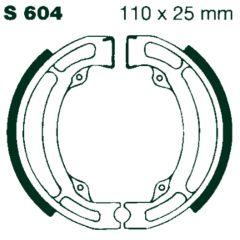 AIR Bromsbackar S 604 110x25mm parvis