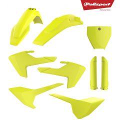 Plastkit Polisport TC125/250, FC250/350/450 16-18 Flo yellow