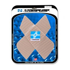 Stompgrip Universal Wedge Tank Grips - Icon : Clear