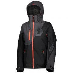 SCOTT Jacket W's Move Dryo melange grå/svart