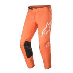 Alpinestars Techstar Byxor Factory Orange/Vit