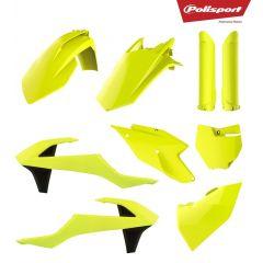 Plastkit Polisport SX125/150, SX-F250/350/450 16-18 Flo yellow